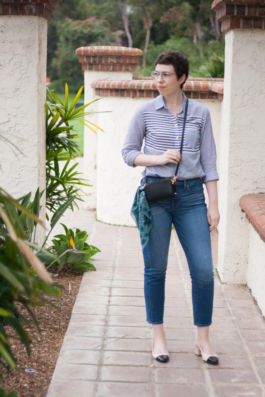 Flattering Madewell jeans
