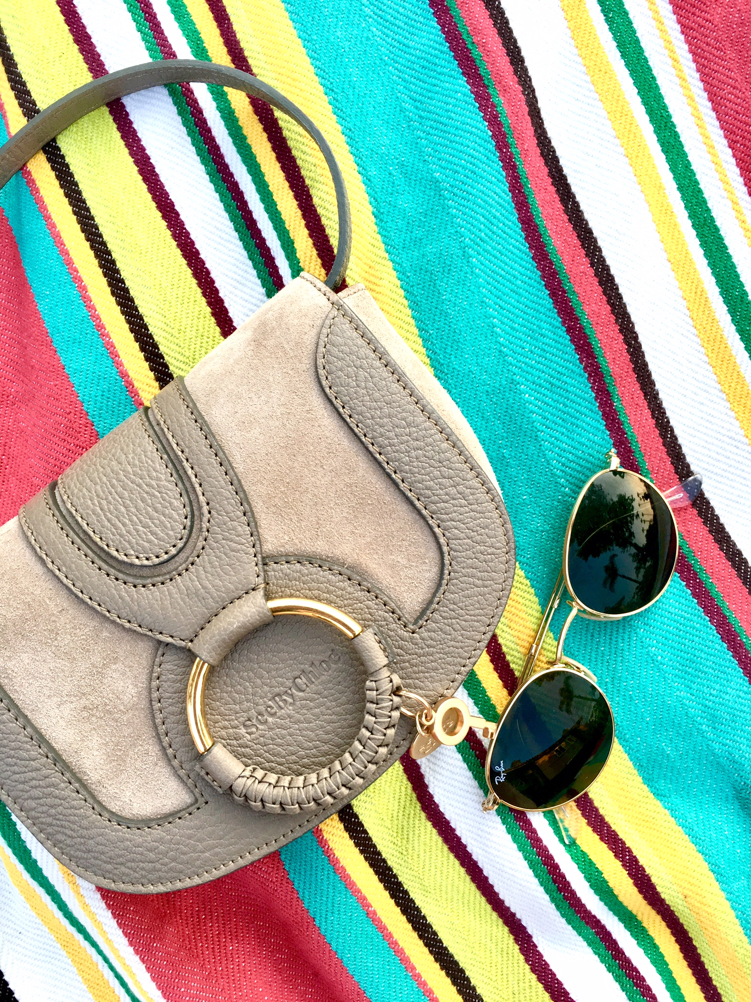 See by Chloe Hana Bag and Ray-Ban rounds